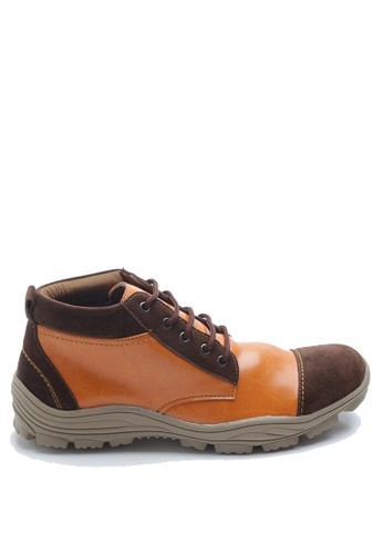 Dr. Kevin brown Dr. Kevin Men Boots 1043 - Tan/Brown DR982SH0UMLEID_1