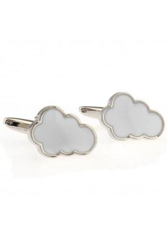 The Little Link Cufflinks white Dreamy Cloud cufflinks TH089AC0G3J7SG_1