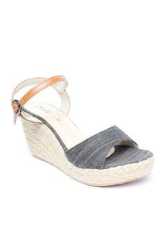 Audrey Canvass Espadrille Wedge Sandals