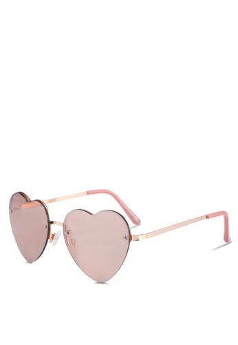 Call It Spring pink Bicia Sunglasses E12A4GL8E1A0EAGS_1