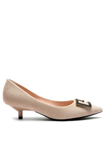 Twenty Eight Shoes Square Buckle Pumps 296-50 BF354SH1D1625AGS_1