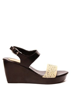 Noelene Wedge Sandals