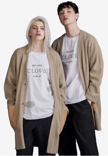 長版口袋針織外套, 服飾esprit招聘, 外套