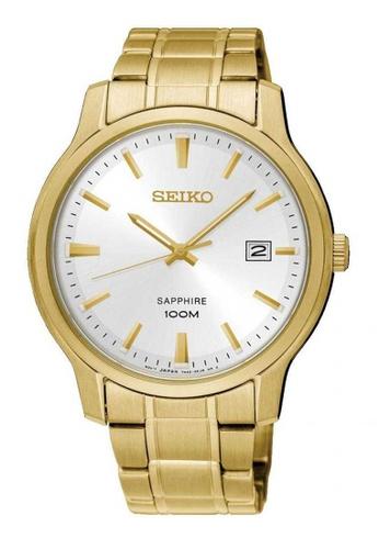 Seiko gold Seiko Neo Classic Gold Stainless Steel Watch ED0DCAC67E9BA9GS_1