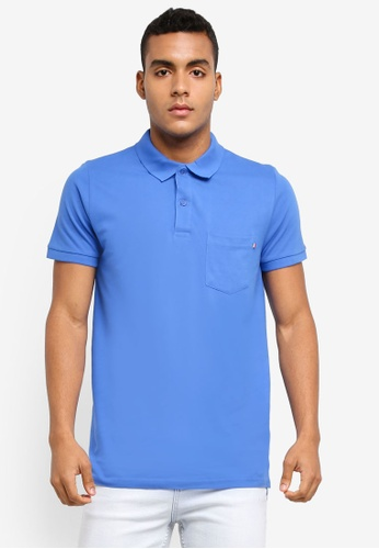 Cotton On blue Icon Polo Shirt 9C660AAAE17238GS_1