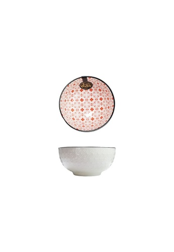 Table Matters multi Crisscross Red - 4.5 inch Rice Bowl 8E0BAHLF4F6C50GS_1