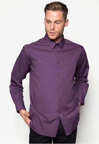素色合身商務襯衫esprit outlet 香港, 服飾, 襯衫