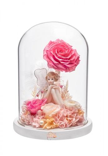 Her Jewellery pink Everlasting Preserved Rose - Fairyland 2000AHL1991729GS_1