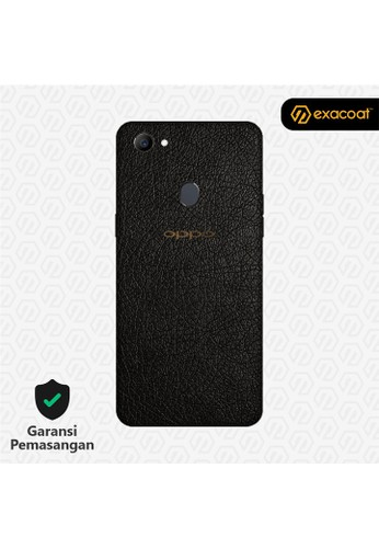 Exacoat Oppo F7 3M Skins Leather Black - Cut Only 4931EES9A04DD2GS_1