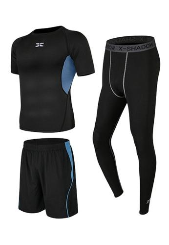 Sunnydaysweety blue Short Sleeves Tops, Tights and Shorts Set A081026BL 5CC4CAAEAAB017GS_1