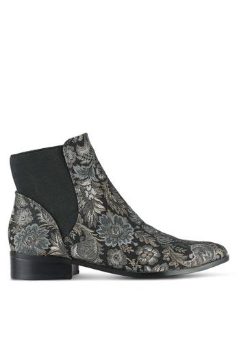 ALDO black and multi Nydia Boots AL087SH0RLP6MY_1