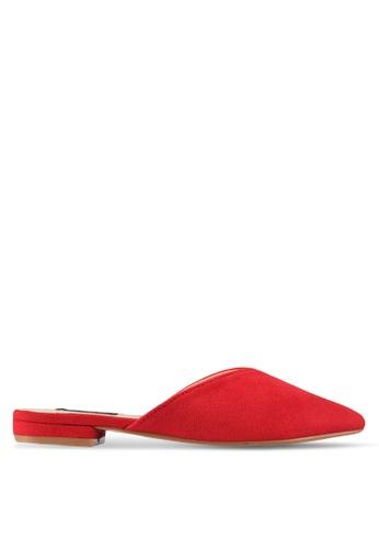 ZALORA red Slip On Mules 749C9SH1A68D6FGS_1