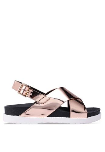 Carlton London 金色 Rosemarie 楔型鞋 010DFSHDEAFFA4GS_1