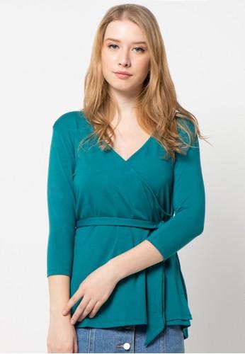 EDITION green Kimono Blouse ED101AA36ANBID_1