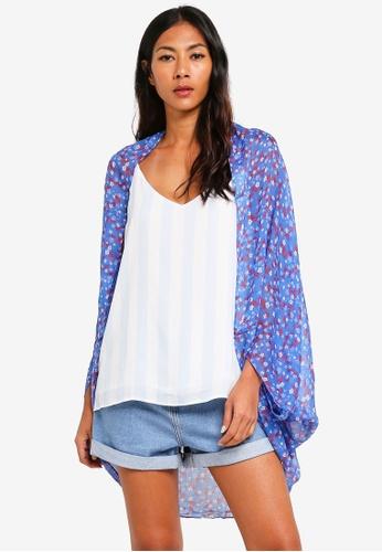 Cotton On blue Trixy Cocoon Kimono 40237AA11B10AEGS_1