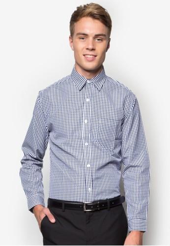 esprit outlet 台灣Gingham Formal Shirt, 服飾, 襯衫