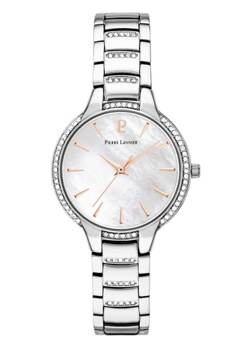 Pierre Lannier silver Pierre Lannier Watches - Jam Tangan Wanita- Steinless Steel - 038H691 (silver) A7000ACA42F659GS_1