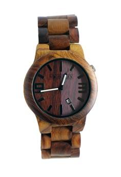 Red Sandalwood Weightless Wooden Watch