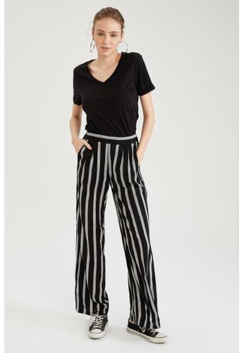 DeFacto black High Waist Viscose Trousers 4C4D2AAC0A335CGS_1