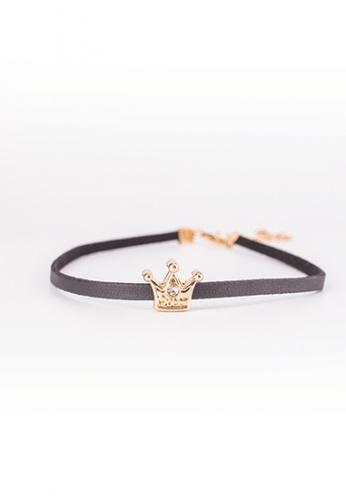 Drum gold Choker- Crown DR425AC0S2DFMY_1