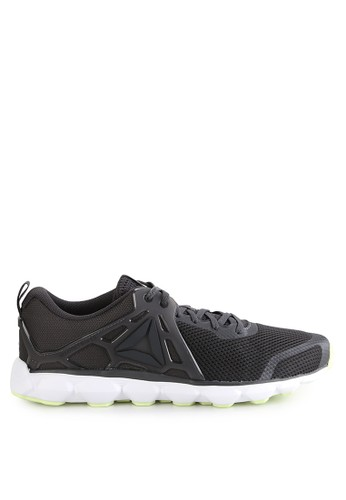 Reebok black Hexaffect Run 5.0 Mtm RE246SH0UTHHID_1