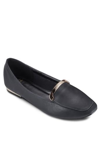 金屬飾esprit hk分店平底鞋, 女鞋, 鞋