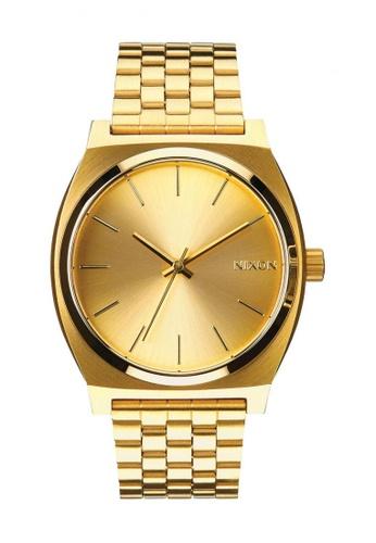 1a552ef5e Buy Nixon Nixon - Time Teller Gold Watch Online on ZALORA Singapore