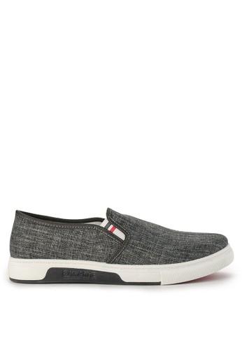 Declan grey Berlin Slip On Sneakers AF8E2SH29CB2E4GS_1