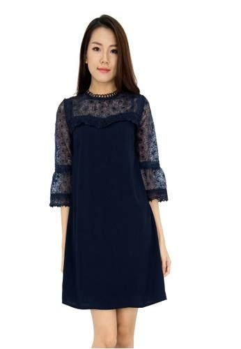 13001de14 Buy MOONRIVER Paisley Embroidered Bell Sleeve Dress Online on ZALORA ...