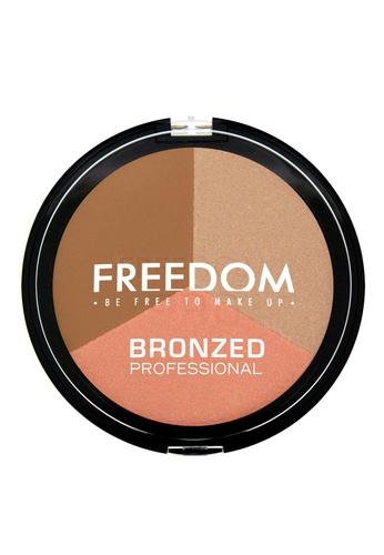 Freedom Makeup Freedom Bronzed Professional Pro Shimmer Lights FR785BE84DGHSG_1