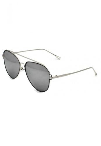 jojo black Aviator Full Metal Black Painted Polarized Sunglasses 827CFGL44CB6A2GS_1