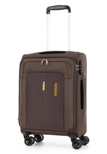 American Tourister brown American Tourister Limo Spinner 55/20 Exp TSA 4677BACC175AAFGS_1