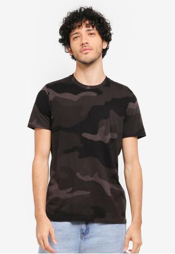Hollister black Core Icon Crew Neck T-Shirt HO422AA0T1BOMY_1