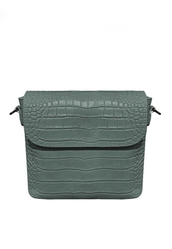 Twenty Eight Shoes blue VANSA Retro Crocodile Leather Crossbody Bag VBW-Cb9930 7A81EACD94A714GS_1