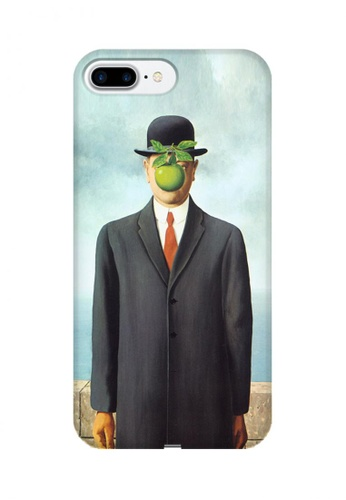 Wonder Cover multi The Son of Man Hard Case for iPhone 7 Plus 4667FAC0F4E005GS_1