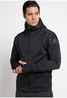 adidas black adidas m zne fr hoodie 71302AA72BFAC1GS_1