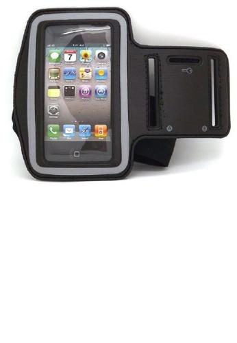 MobileHub black Sports Armband for iPhone 4/4s (Black) MO220AC47MYYPH_1
