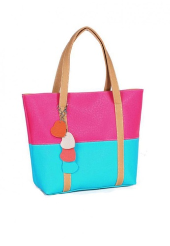 TCWK blue Ladies Handbag TC258AC09NCGMY_1