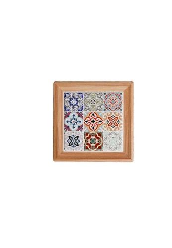 Table Matters multi Peranakan  Coaster (Cup)-E (Dim: 10.8 x 10.8 x 0.7cm) 5954FHLC9D9F93GS_1