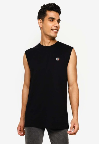 SUPERDRY black Collective Oversized Tank Top B22DCAA8ABA704GS_1
