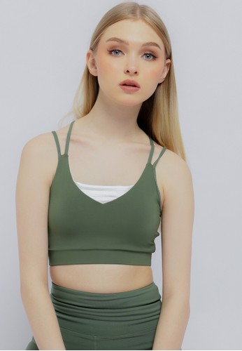 Corenation Active green Ashley Bra - Green Olive 67D13AA1DD2944GS_1