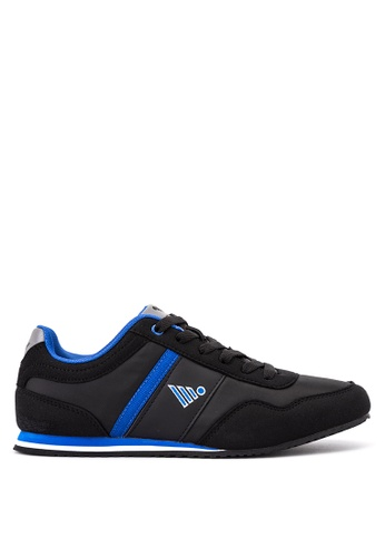 Jump black Conor Lace Up Sneakers JU701SH44DGTPH_1