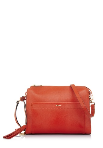 BONIA orange Bonia Orange Crocuet Crossbody Bag S D3BD3AC761CA01GS_1