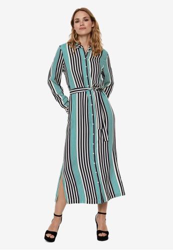 Vero Moda navy Niva Calf Shirt Dress 87221AA512C9CBGS_1
