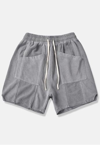 HAPPY FRIDAYS Soft Denim Casual Shorts BE11 3E085AA0192E43GS_1