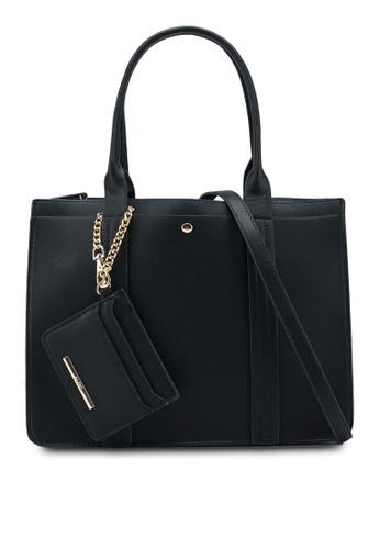 ALDO black Zille Handbag EA248ACB406A38GS_1