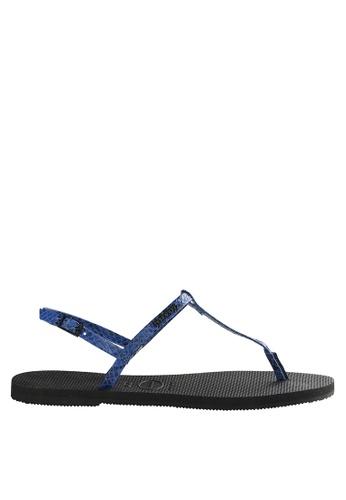 fb478935feb1 Shop Havaianas You Riviera Croco 18 Sandals Online on ZALORA Philippines