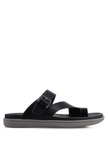 Bata black Slip On Sandals 12A3FSHF31A883GS_1