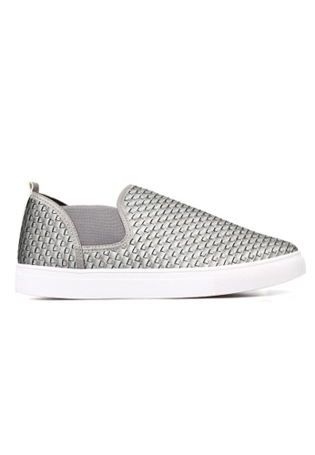 New York Sneakers grey New York Sneakers Oz D227 Men's Slip On Shoes FE64ESHF8D7F44GS_1