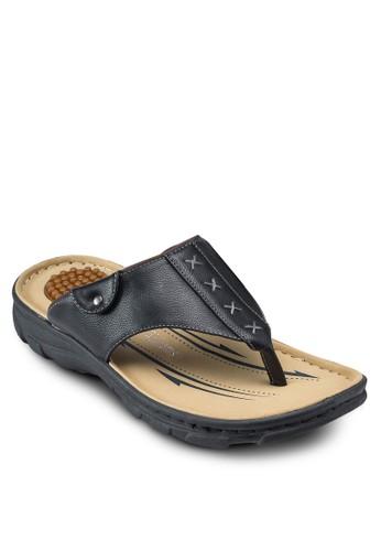 夾腳仿皮涼鞋, 鞋,esprit童裝門市 鞋